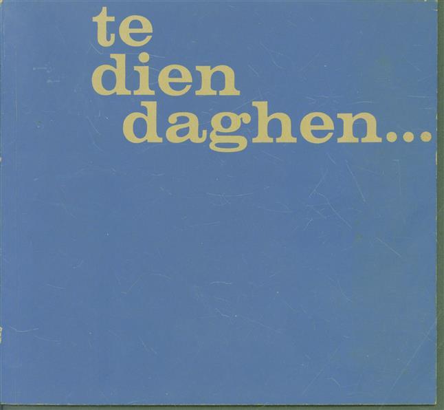 ( te dien daghen ) - Het viel een hemelsdouwe op een ionck maechdekijn : oude kerstvoorstellingen van 1400-1800.