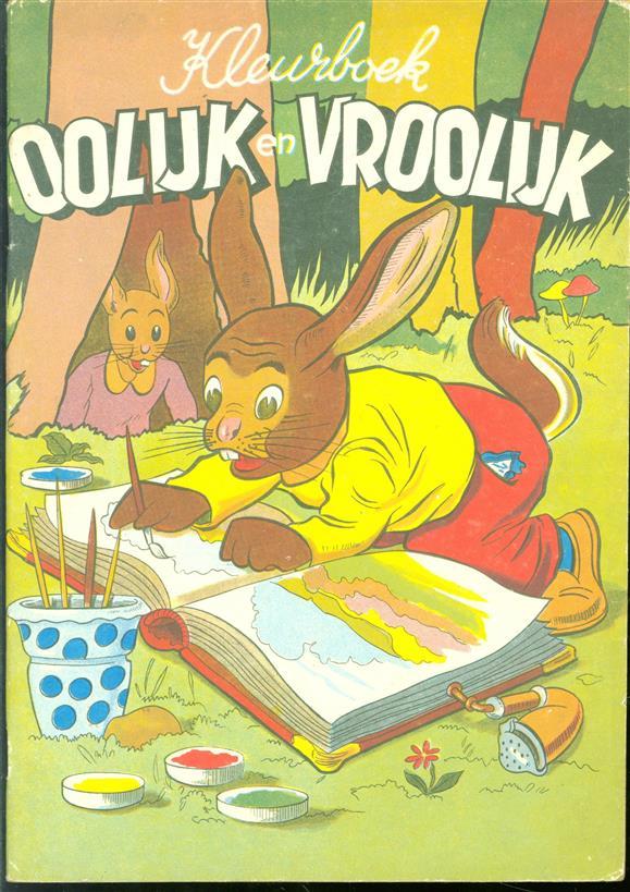 Kleurboek oolijk en vroolijk