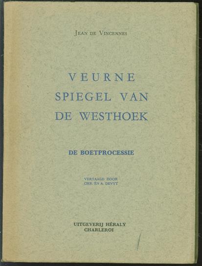 Veurne, spiegel van de Westhoek : de boetprocessie