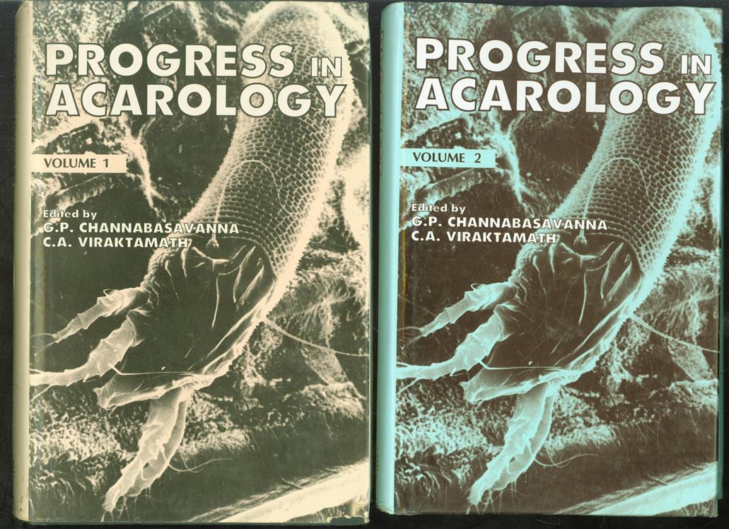 Progress in acarology ( vol I + II )