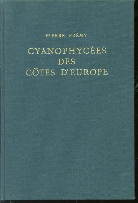 Cyanophycées des côtes d Europe