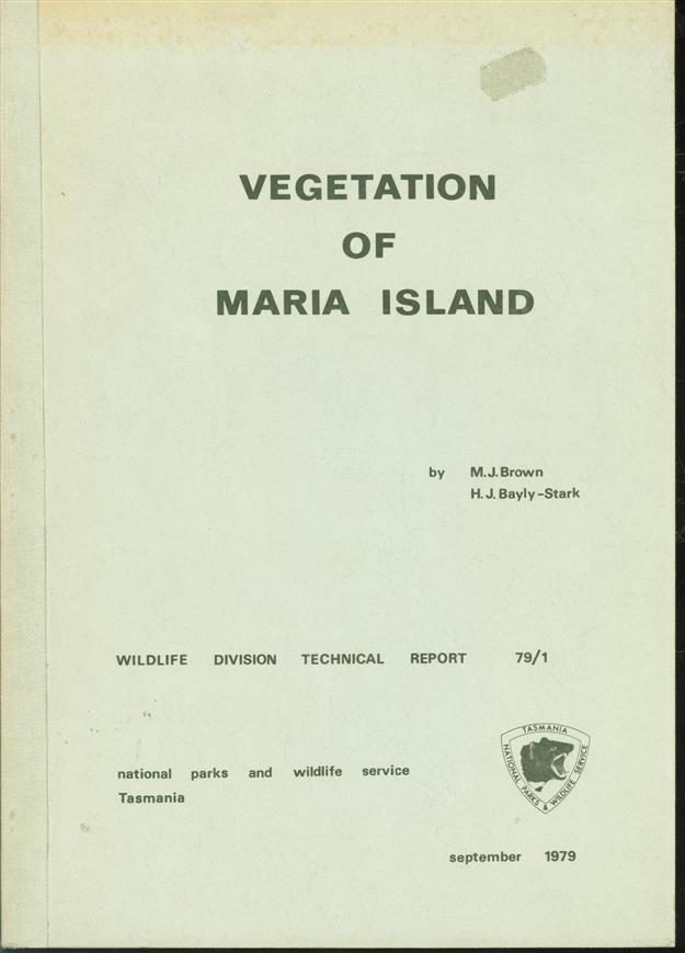 Vegetation of Maria Island