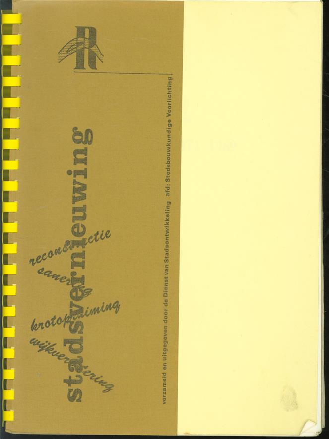 ( reacties op ) Saneringsnota 1969