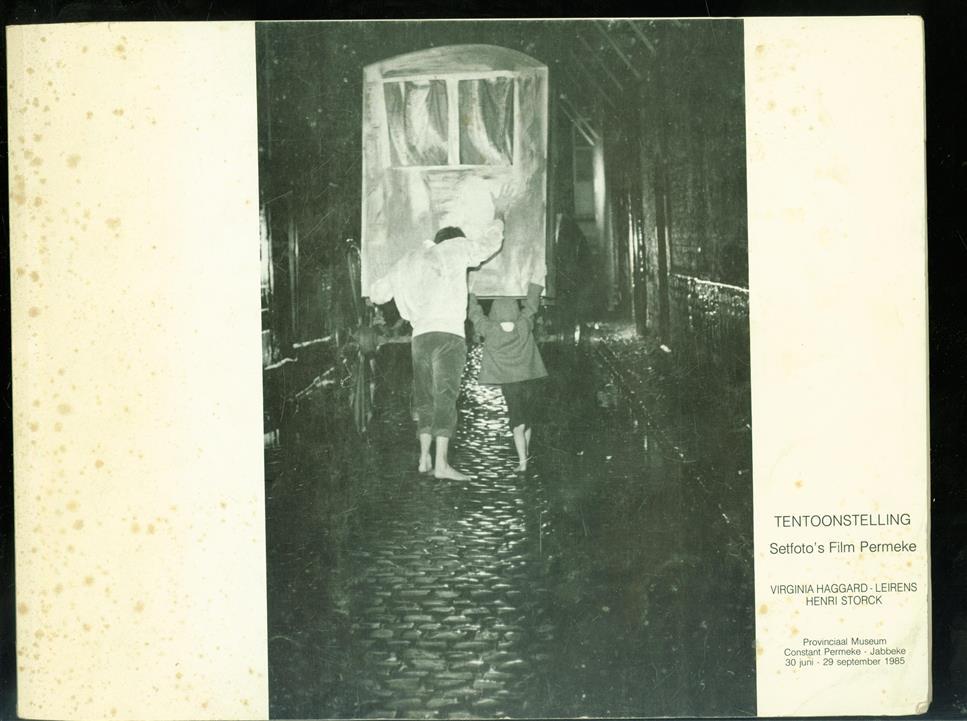 Tentoonstelling Setfoto's film Permeke