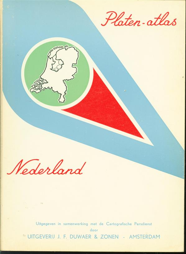 Platen-atlas Nederland,