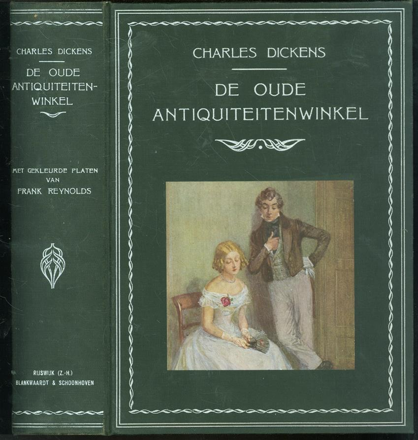 De oude antiquiteitenwinkel ( Dutch edition illustratred by Frank Reynolds )