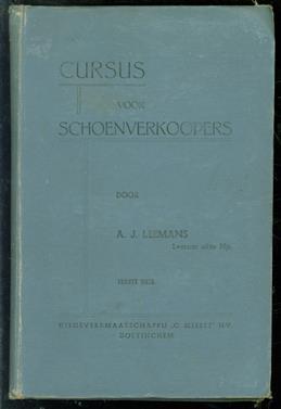 Cursus voor schoenverkoopers  ( 1e deel )