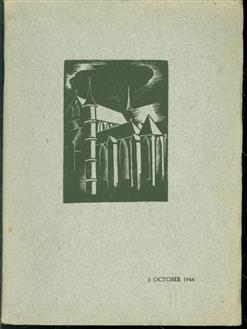 Herdenking van Leidens beleg en ontzet in de Pieterskerk te Leiden op 3 October 1944