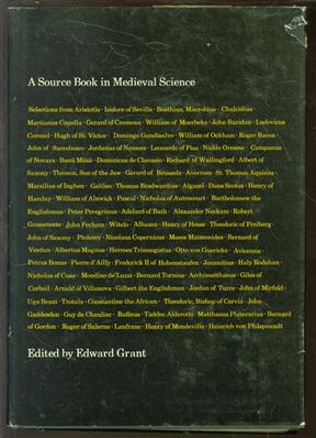 A source book in medieval science