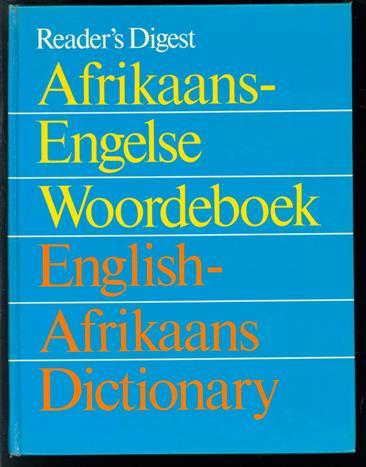 Afrikaans-Engelse woordeboek : English-Afrikaans dictionary