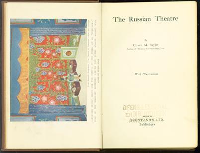 The Russian theatre ( original edition )