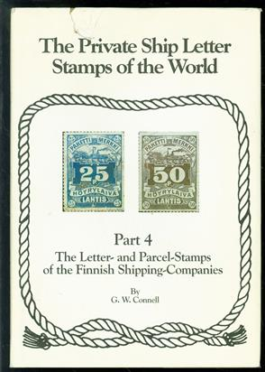 The private ship letter stamps of the world. Part 4 : the letter- and parcel-stamps of the Finnish shipping companies