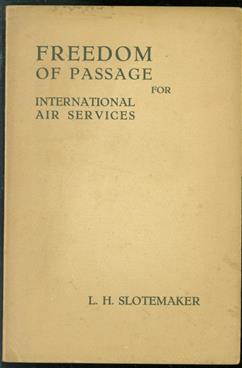 Freedom of passage for international air services