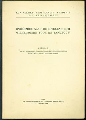 Beknopt overzicht van de resultaten van een onderzoek naar de betekenis van de wichelroede voor de landbouw, 1952-1953