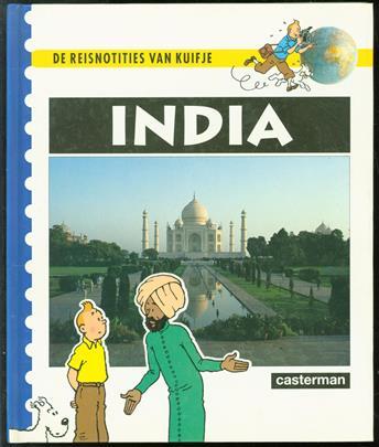 India - De reisnotieties van Kuifje
