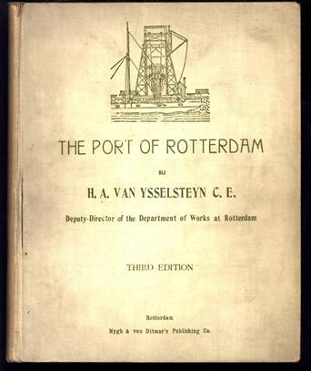 The port of Rotterdam.