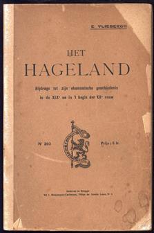 Het Hageland, zijne plattelandsche bevolking in de XIXe eeuw, bijdrage tot de studie der economische en sociale geschiedenis