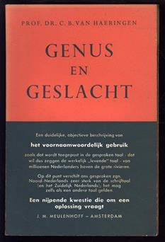 Genus en geslacht, het voornaamwoordelijk gebruik in de gesproken taal