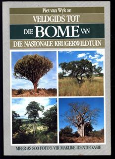 Veldgids tot die bome van die Nasionale Krugerwildtuin