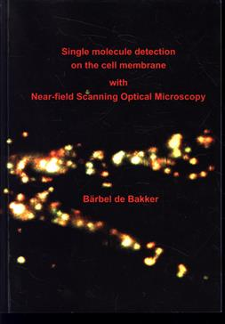 Single molecule detection on the cell membrane with near-field scanning optical microscopy