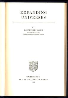 Expanding universes.( first ed. )