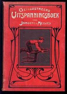 Geïllustreerd uitspanningsboek voor jongens en meisjes