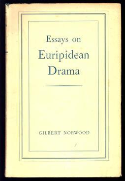 Essays on Euripidean drama