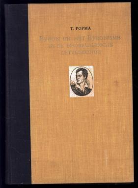 Byron en het Byronisme in de Nederlandsche letterkunde