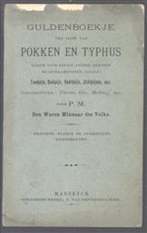 Guldenboekje ten tijde van Pokken en Typhus