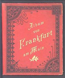 (TOERISME / TOERISTEN BROCHURE) Album von Frankfurt am Main.