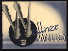 (BEDRIJF CATALOGUS) Wellner - Wello Bestek en luxe artikelen