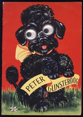 Peter glinsteroog ( prentenboek met bewegende ogen )