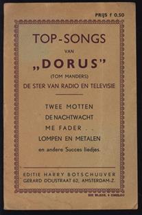 Top Songs van DORUS ( Tom Manders ) De ster van radio en televisie