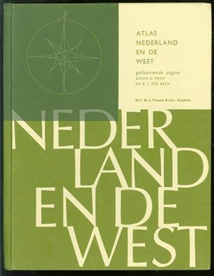 Atlas van Nederland en de West : voor de lagere school