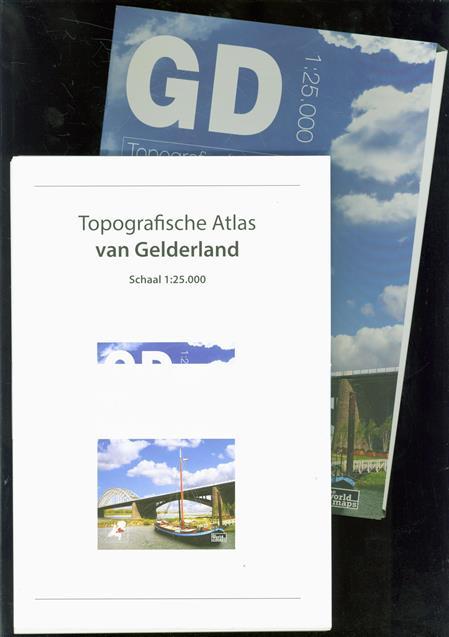 Topografische atlas van Gelderland ( IN LOSSE KAARTEN )