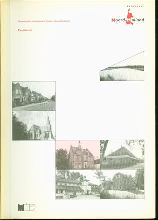 Castricum : gemeentebeschrijving ( M.I.P. Monumenten inventarisatieproject Noord Holland )