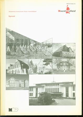 Egmond : gemeentebeschrijving  ( M.I.P. Monumenten inventarisatieproject Noord Holland )