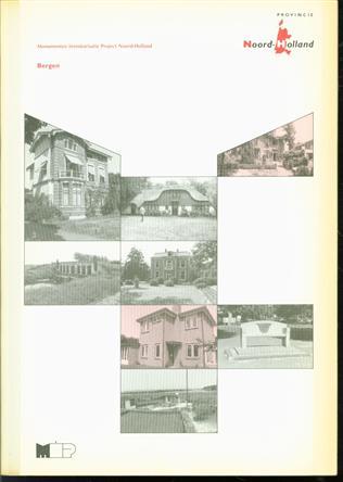 Bergen : gemeentebeschrijving  ( M.I.P. Monumenten inventarisatieproject Noord Holland )