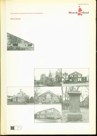 Heemskerk : gemeentebeschrijving  ( M.I.P. Monumenten inventarisatieproject Noord Holland )