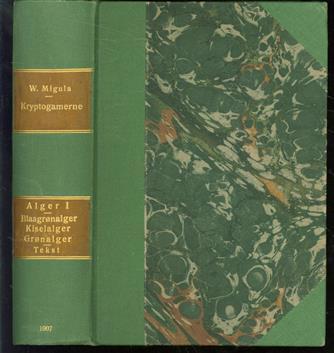 Kryptogamen-Flora von Deutschland, Deutsch-Österreich und der Schweiz ; Bd. 2, Algen ; Teil 1, Cyanophyceae, Diatomaceae, Chlorophyceae