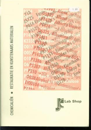 Chemicalien, restauratie en kunstenaars materialen