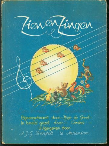 Zien en zingen, een bundel oude kinderliedjes