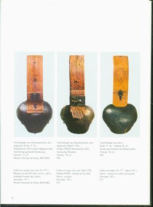 Faszination : historische Treicheln &; Saanerglocken = Anciennes sonnailles & cloches du Gessenay ( koebel klokken - koebellen )