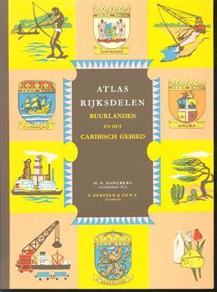 Atlas rijksdelen, buurlanden en het Caribisch gebied