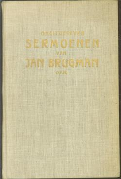 Onuitgegeven sermoenen van Jan Brugman O.F.M.