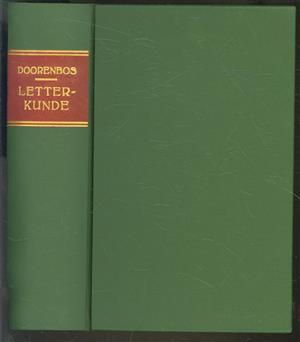 Handleiding tot de geschiedenis der letterkunde, vooral van den nieuweren tijd