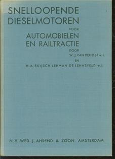 Snelloopende dieselmotoren voor automobielen en railtractie