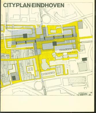 Cityplan Eindhoven, [catalogus bij de tentoonstelling, gehouden in het Van Abbemuseum te Eindhoven]