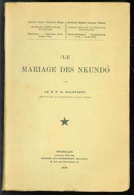 Le mariage des Nkundó.( Congo )