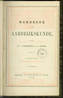 Handboek der aardrijkskunde